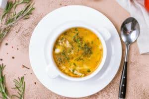 Koolhydraat arme soep