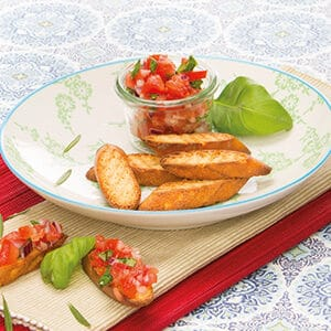 PS06555 Hartige snacks Bruschetta PowerSlim