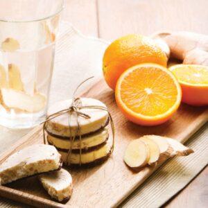 PS07105 Sinaasappel gember koek PowerSlim