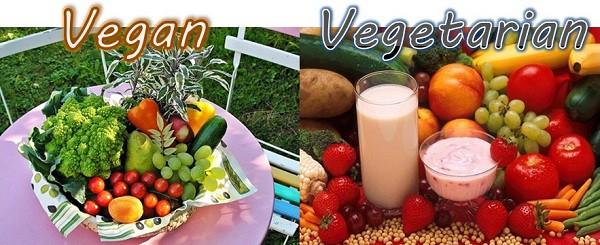 vegan vs vegetarisch