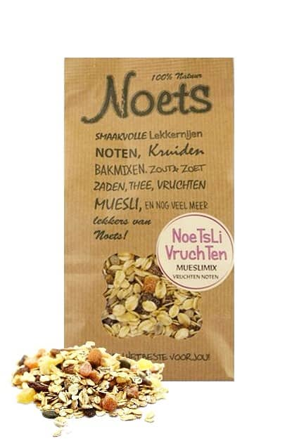 Noetsli Vruchten Ontbijtmix 500 gr – Noets
