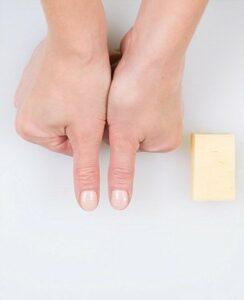duimen kaas