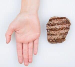 hand vlees
