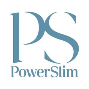 PowerSlim Logo GreyBlueOnWhite