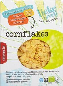 lieke is vij van gluten cornflakes