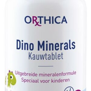 orthica dino minerals kauwtablet