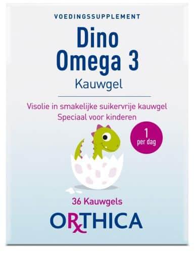 orthica dino omega 3 kauwgel