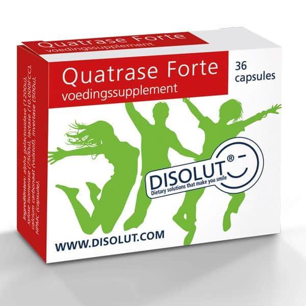 Disolut Quatrase enzym complex forte 36 capsules