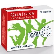 Disolut quatrase enzym complex 36 capsules