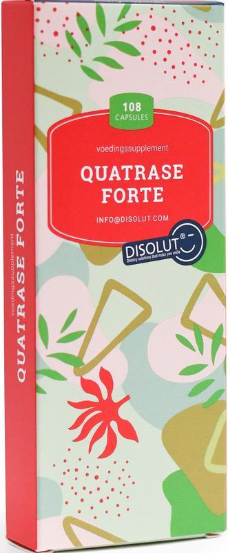 Disolut quatrase enzym complex forte 108 capsules