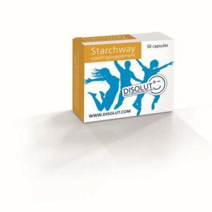 Disolut starchway invertase glucoamyl 50 capsules