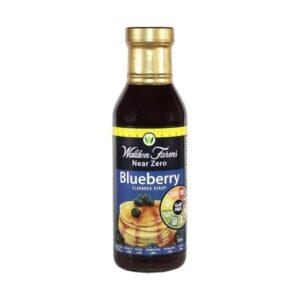 walden farms syrup blueberry