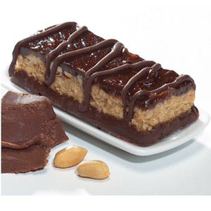 Reep crunch met pinda chocoladesmaak 1