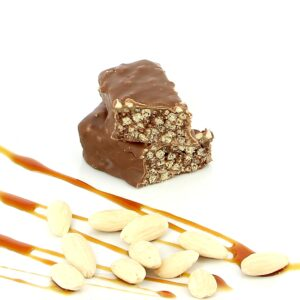 T617 double chocolate caramel deluxe bar 2 1
