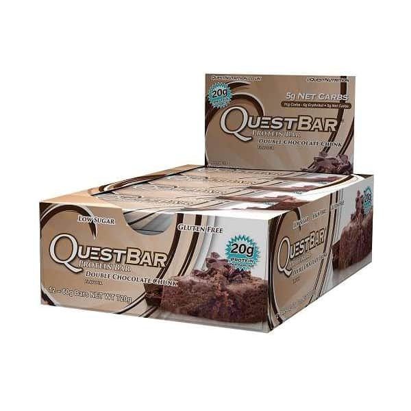 quest nutrition quest bars double chocolate chunk
