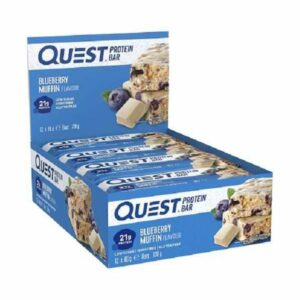 quest quest bars blueberry muffin