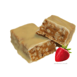reep crunch aardbeiensmaak 1