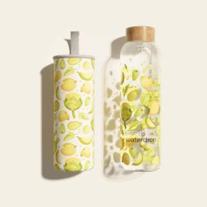 waterdrop new glass bottle 600ml glow 1500x